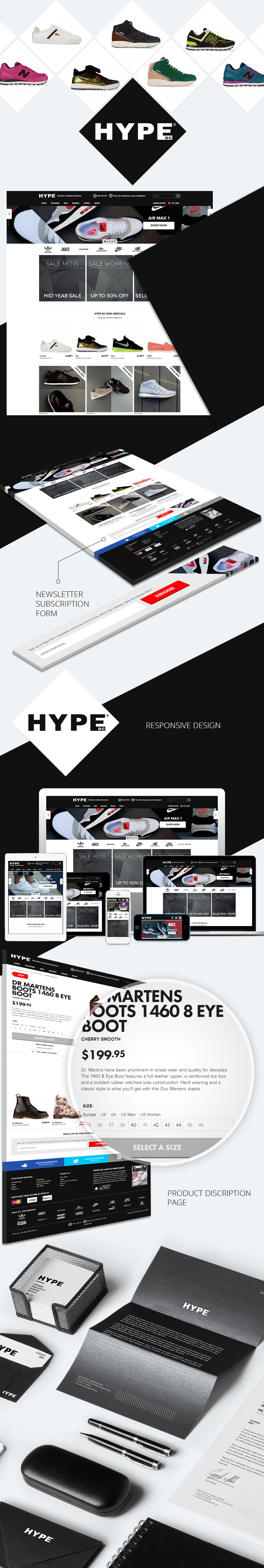 Hype Online Store